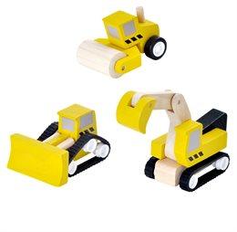 Fahrzeuge Bodenbearbeitungsmaschienen im 3er Pack