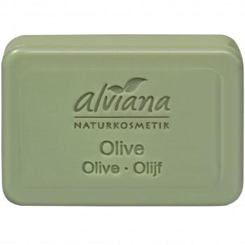 Pflanzenölseife Olive -Stückseife (100g)