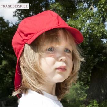 Felix Schirmmütze voluminös verarbeitet UV-Schutz 80 rot