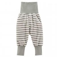 Babyhose Nicki Streifen grau