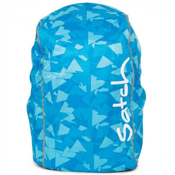 Regencape für satch Schulrucksack blau