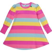 Vorschau: Kleid für Mädchen Sommer + Übergangszeit - pink