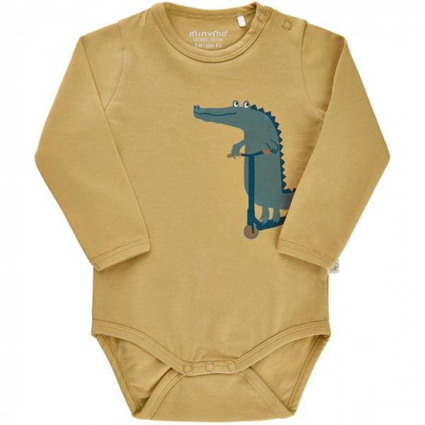 Langarm Body Krokodil