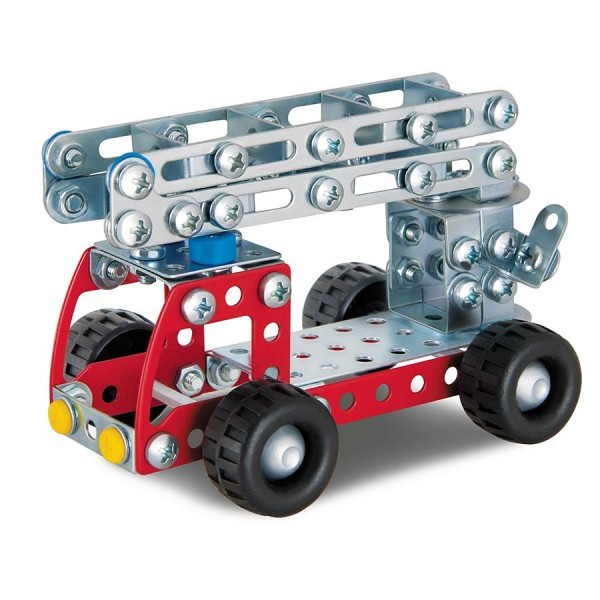 Metallbauset Feuerwehr 8-12+ Jahre 180 tlg