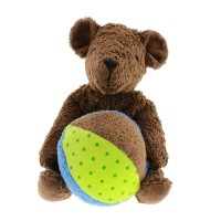 Vorschau: Senger Tierpuppen Bär Mucki dunkelbraun - hochwertig & liebenswert