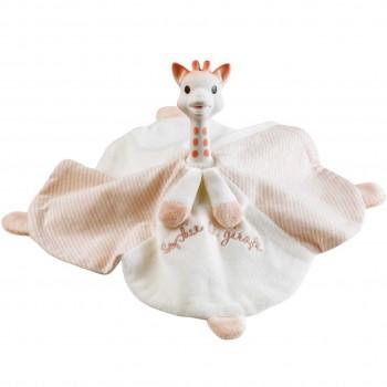 Baby Beißring mit Schmusetuch 25x25 cm