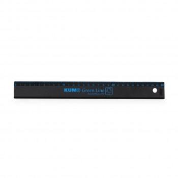 Lineal 30 cm – Green Line recyceltem Plastik blau