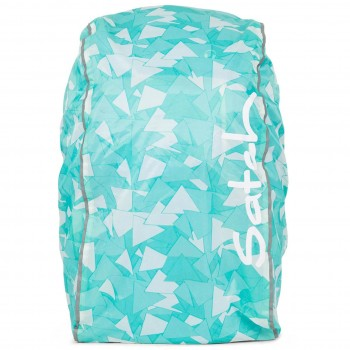 Regencape für satch Schulrucksack mint