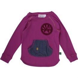 Langarmshirt Interlock für Mädchen