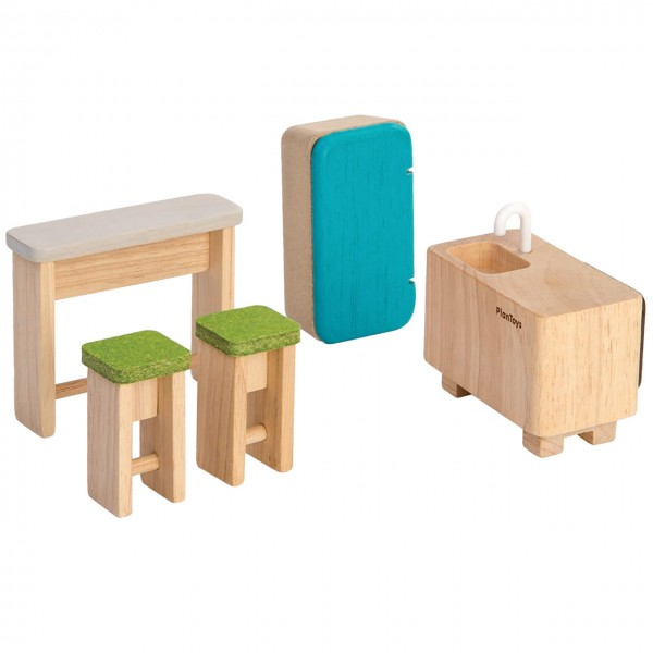 Puppenhaus Zubehör Küche 5tlg Möbelset