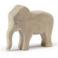 Elefantenkuh extra dickes Holz 14cm hoch