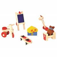 Zubehör fürs Puppenhaus - Freizeitspaß