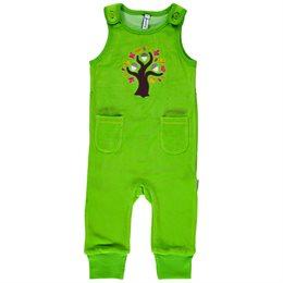 maxomorra warmer Babystrampler grün