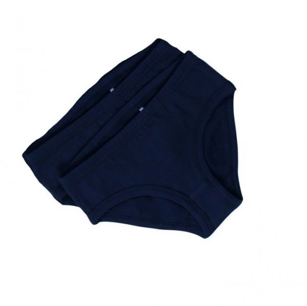 Girl 2er Set Slips navy