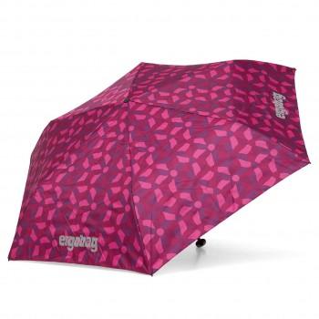 Kinder Regenschirm lila/rosa Muster