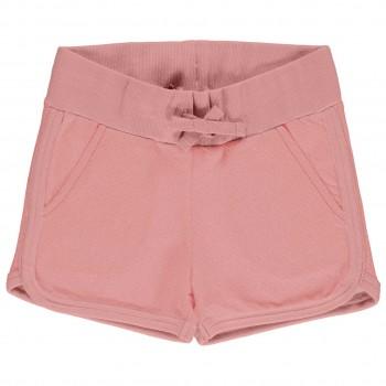 Kurze Sweat Shorts altrosa
