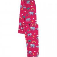 Leggings Elefanten Regenbogen pink