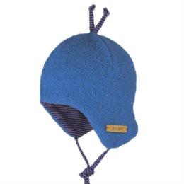 Bio Baby Wintermütze pastell blau