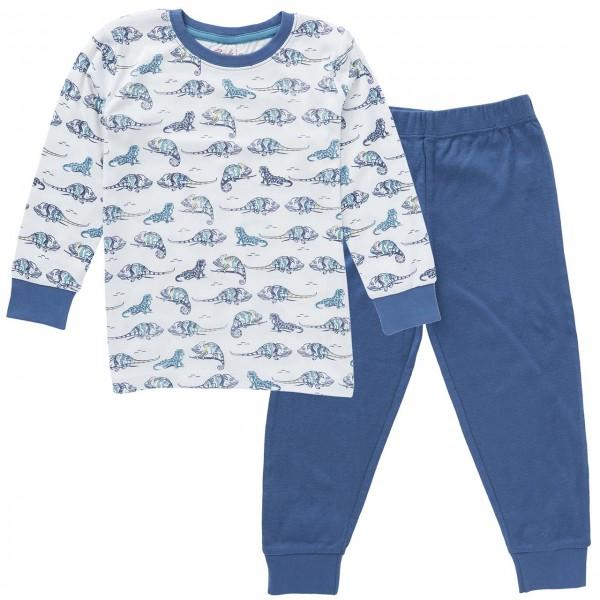 Jungen Schlafanzug Chamäleons