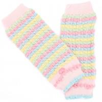 Rosa Arm- & Beinstulpen auch für Babytragen