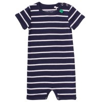 Bequeme Beachbody navy gestreift