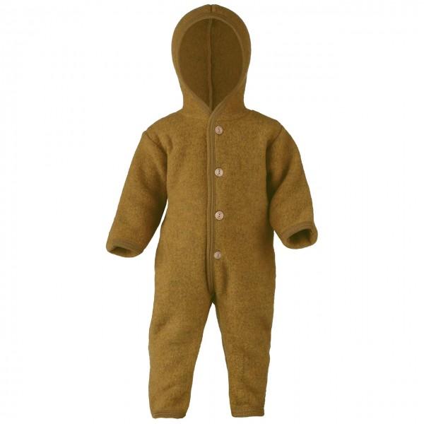 6d68ee483816fb Woll Fleece Overall mitwachsend safran