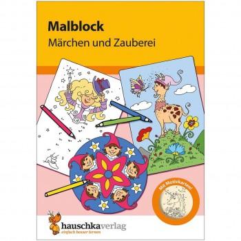 Malblock für Kinder ab 3 Jahre Märchen