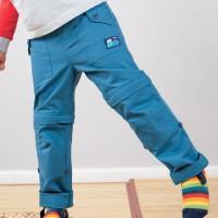 Robuste Outdoorhose mit abnehmbaren Hosenbeinen
