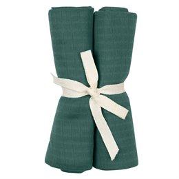 Stoffwindel 2er Pack kräftiges pastell-grün