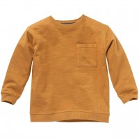 Dickeres Sweatshirt karamell-braun uni