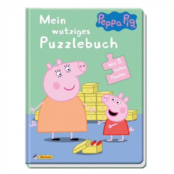 Puzzlebuch Peppa Wutz ab 2 Jahren