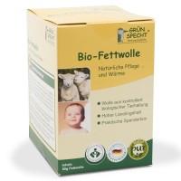 Vorschau: Bio Fettwolle pflegend 50g