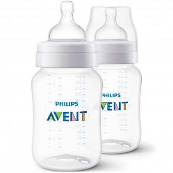 Avent Babyflaschen 2er Set Anti-colic 260 ml 0 m+