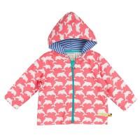 Bio Sommerjacke Mädchen Delfin rosa