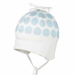 Softe Mütze Übergang Ohrenschutz pastellblau