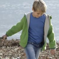 Vorschau: Bio Walk Kinderjacke Outdoor gefüttert Reflektoren neutral