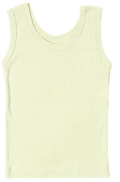 Bio Unterhemd Unterwäsche ungefärbt ohne Arm