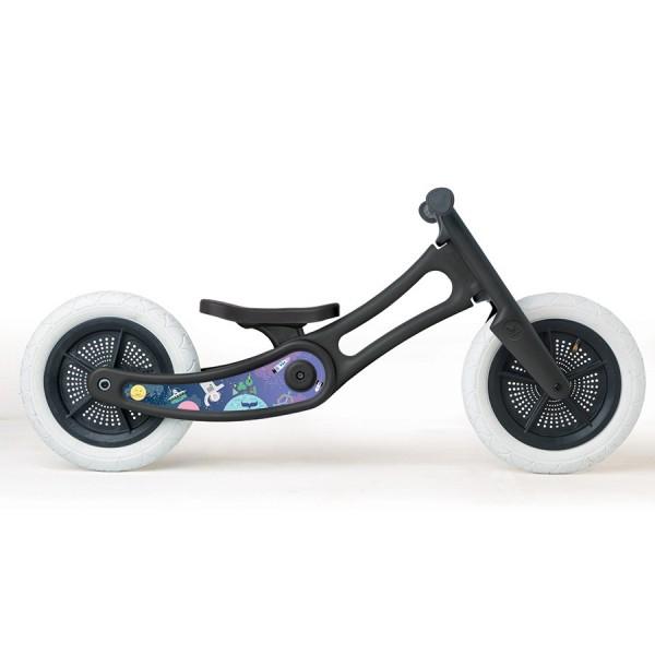 """Sticker """"Weltall"""" für Wishbone recycled black bikes"""