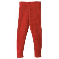 Vorschau: Wolle Leggings warm mitwachsend rot