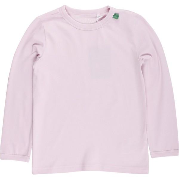 Super elastisches Mädchen Bio Shirt langarm - Basic