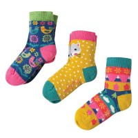 Kindersocken in 3er Pack Fuchs