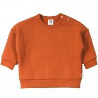 Robustes Sweatshirt rost-orange