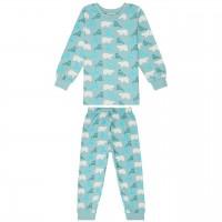 Schlafanzug mit Arm- und Fussbündchen - Walross