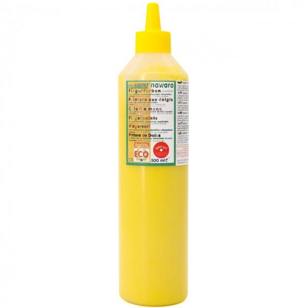 Fingerfarben 500 ml Schul- und Theaterfarbe gelb