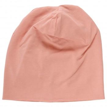 Leichte Beanie Übergangszeit rosé