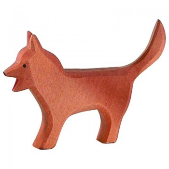 Bremer Hund Holzfigur 6 cm hoch