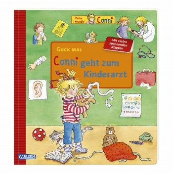 Kinderbuch Conni beim Kinderarzt ab 3 Jahre
