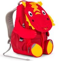 Vorschau: Drache Kindergarten Rucksack 3-6 Jahre rot