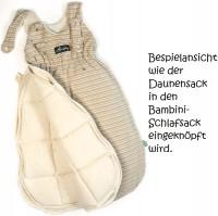 Vorschau: Warmer Daunen Innensack für Bambini Schlafsäcke