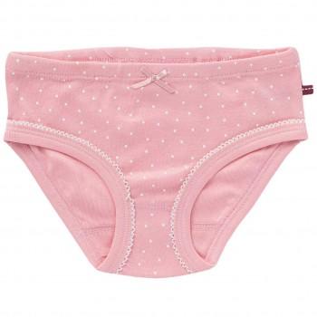 Mädchenslip Pünktchen rosa